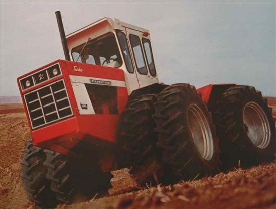 225 hp IH 4366